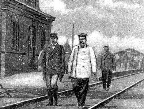 Донецк: Пассажирское сообщение (часть 1, до 1918 года) - «Военные действия»