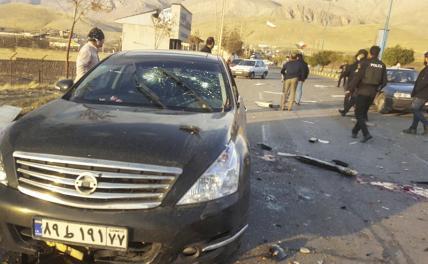Как 62 человека убивали иранского ученого-ядерщика - Свободная Пресса - «Происшествия»